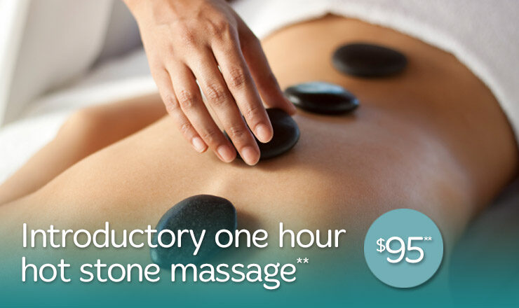 Introductory One Hour Hot Stone Massage